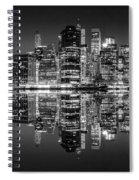 Night Grooves Spiral Notebook