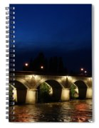 Night In Amboise Spiral Notebook