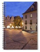 Night In City Of Jelenia Gora In Poland Spiral Notebook