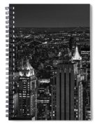 Night In Manhattan Spiral Notebook