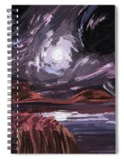 Night Land Spiral Notebook