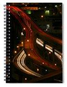 Night Lights Oregon Spiral Notebook