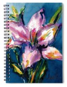 Night Lily Spiral Notebook