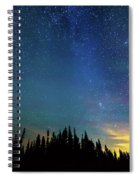Night Of Enchantment Spiral Notebook