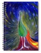 Night Of Light Spiral Notebook