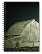 Night On The Farm Spiral Notebook