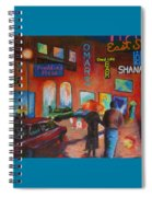 Night Out Spiral Notebook