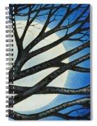Night Perch Spiral Notebook