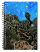 Night Petrified Spiral Notebook