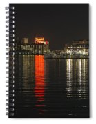 Night Reflections Spiral Notebook