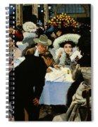 Night Restaurant Spiral Notebook