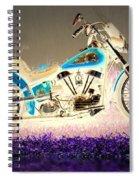 Night Rider Spiral Notebook