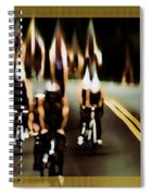 Night Rider Spiral Notebook