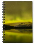 Night Skies And Northern Lights Spiral Notebook