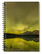 Night Sky Magic Spiral Notebook