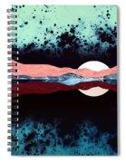 Night Sky Reflection Spiral Notebook