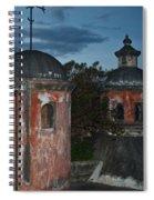 Night Skyline 1 Spiral Notebook