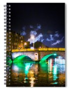 Night Smoke Spiral Notebook
