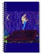 Night Song  Spiral Notebook