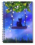 Night Stories Spiral Notebook