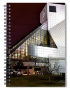 Night Time At The Rock Hall Spiral Notebook