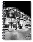 Night Time In The City Of New Orleans I Spiral Notebook