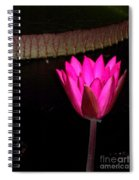 Night Time Lily Monet Spiral Notebook