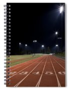 Night Time Run Spiral Notebook
