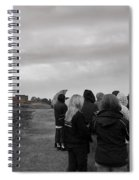 Night Vision Ghost Story In Bradgate Park. Spiral Notebook