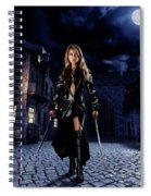 Night Warrior Spiral Notebook