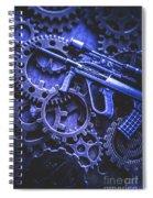 Night Watch Gears Spiral Notebook