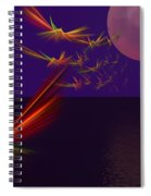 Night Wings Spiral Notebook