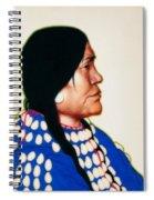 Night Woman, A Blackfeet Of Montana Spiral Notebook