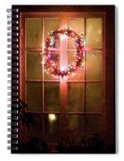 Night Wreath Spiral Notebook