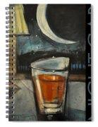 Nightcap Poster Spiral Notebook