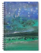 Nightfall 25 Spiral Notebook