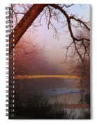 Nightfall At The River Spiral Notebook