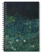 Nightfall In The Forest Spiral Notebook