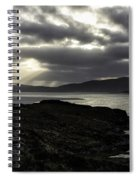 Nightfall Isle Of Harris Spiral Notebook