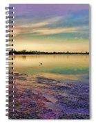 Nightfall On The Bay Spiral Notebook