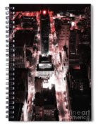 Red Pill Spiral Notebook