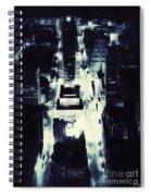 Blue Pill Spiral Notebook