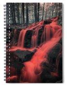 Nightmare Falls Spiral Notebook