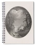 Nightscapes, Dirk Jurriaan Sluyter, After Johannes Hilverdink In Or Before 1870 Spiral Notebook