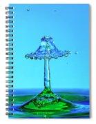 Nightshade Water Droplet Spiral Notebook