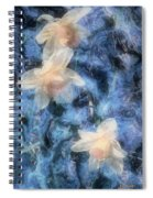 Nighttime Narcissus Spiral Notebook