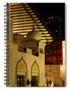 Nighttime On The Boardwalk Spiral Notebook