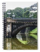Nijubashi Bridge At Imperial Palace Spiral Notebook