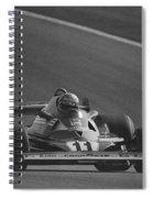 Niki Lauda. 1977 French Grand Prix Spiral Notebook