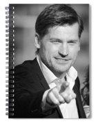 Nikolaj Coster-waldau 6 Spiral Notebook